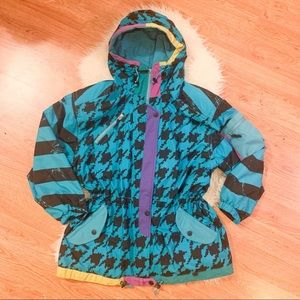 Vintage 90s Obermeyer Blondie Hooded Ski acket  10